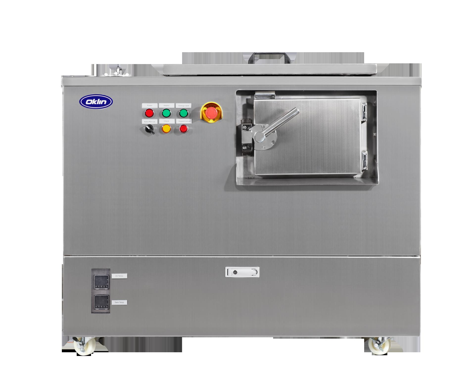 Maquina de Compost Oklin GG-10s Frente